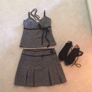 Studio Y top and skirt - super cute. Sz 3/4